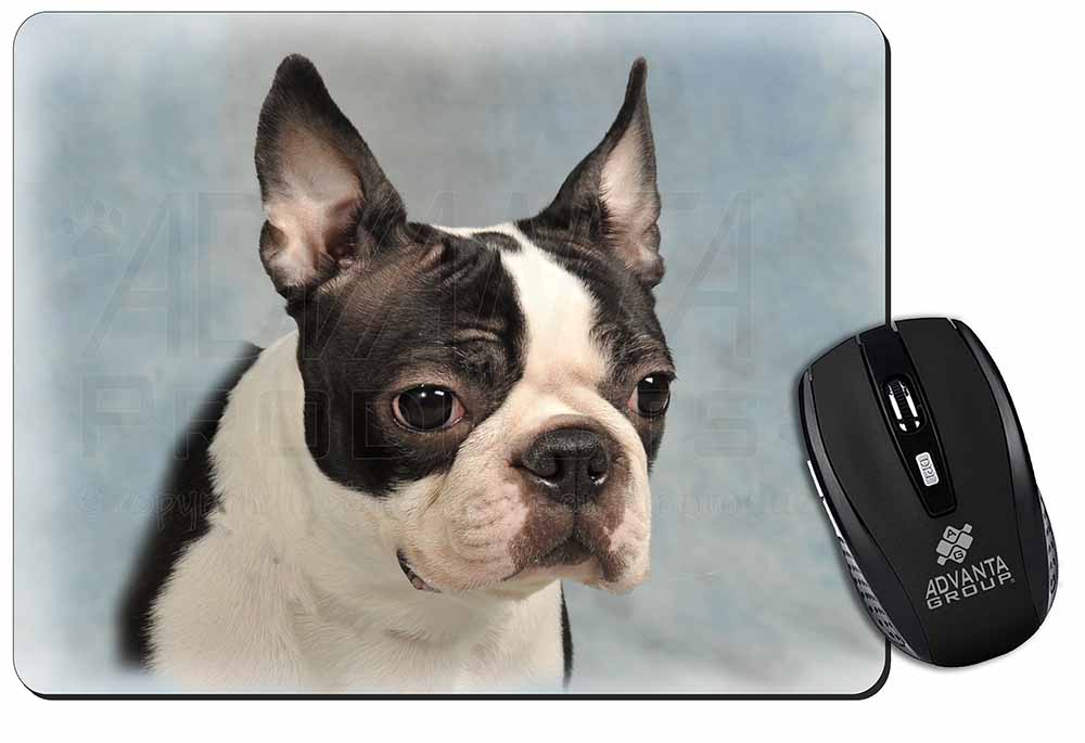 Promotional Boston Terrier Dog Computer Mouse Mat Birthday Gift Idea ID20084