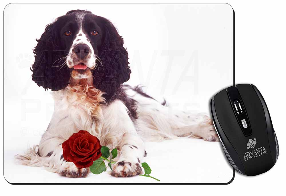 I Love My Springer Spaniel Gift For Dog Cushion With Pad Included