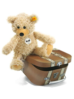 Steiff Charly Bear in a Suitcase Childrens Soft Toys 012938