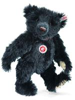 Steiff Limited Edition British Collectors Black Mohair Bear 2011 663901