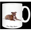 "Staffordshire Bull Terrier ""Love You mum..."" 11oz Ceramic mug Gift"