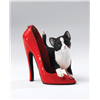 Kitten Heels Saffron Kitten in a Red Patent Shoe Collectable Cat Christmas Gift