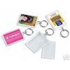 10 Large Clear View Photo Keyrings Do it Yourself Key Ring Gifts C1X10