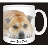 Staffordshire Bull Terrier Dog Mug Fathers Day Gift for Dad AD-SBT7FDMG