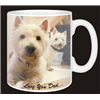 West Highland Terrier Dog Mug Fathers Day Gift for Dad AD-W1FDMG