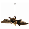 Hansa Realistic Hanging Brown Bat Halloween Childrens Soft