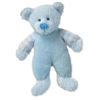 Russ Rattle Pals Small Blue Teddy Bear Plush Toy 33570B