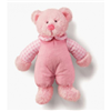 "Russ Baby Large 12"" Rattle Pals Girls Pink Teddy Bear Toy 33574"