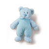 "Russ Baby Rattle Pals Boys Large 12"" Blue Teddy Bear 33575"