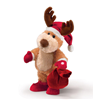 "Russ Benny Reindeer Singing""Shout-Merry Christmas"""