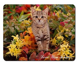 Pretty Tabby Cat Mum Sentiment, AC-155lym
