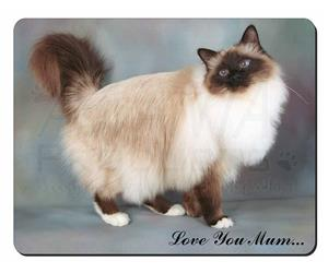 Gorgeous Birman Cat Mum Sentiment, AC-30lym