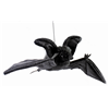 Hansa Realistic Life-Like Black Hanging Bat Halloween