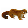 Hansa Realistic Brown Stoat Childrens Soft Toy 4843