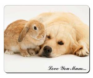 Golden Retriever and Rabbit Mum Sentiment, AD-GR52lym