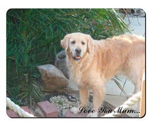 Golden Retriever Dog Mum Sentiment, AD-GR74lym