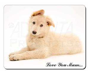 White German Shepherd Mum Sentiment, AD-GS5lym