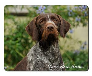 German Wirehaired Pointer Mum Sentiment, AD-GWP1lym