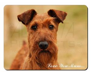 Irish Terrier Dog Mum Sentiment, AD-IT1lym