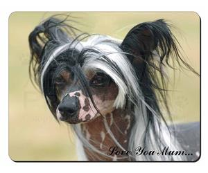 Chinese Crested Dog Mum Sentiment, AD-CHC2lym