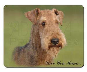 Airedale Terrier Dog Mum Sentiment, AD-AD1lym