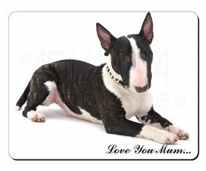 Bull Terrier Dog Mum Sentiment, AD-BUT2lym