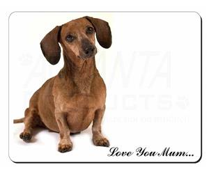 Dachshund Dog Mum Sentiment, AD-DU36lym
