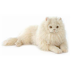 Hansa Gorgeous Extra Large Long Hair Cream Cat Childrens Soft Toy 5010