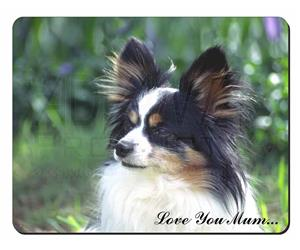 Papillon Dog Mum Sentiment, AD-PA62lym