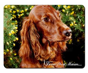 Irish Red Setter Dog Mum Sentiment, AD-RS1lym