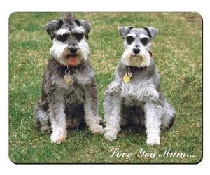 Schnauzer Dog Mum Sentiment, AD-S2lym
