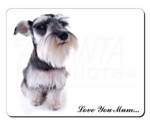 Schnauzer Dog Mum Sentiment, AD-S67lym