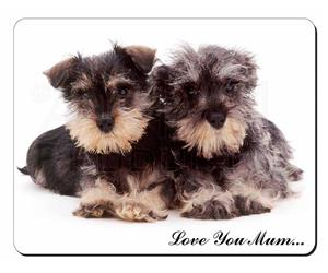 Schnauzer Dog Mum Sentiment, AD-S76lym