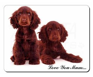 Chocolate Cocker Spaniel Dogs Mum Sentiment, AD-SC9lym