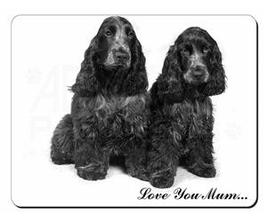 Blue Roan Cocker Spaniel Dogs Mum Sentiment, AD-SC1lym