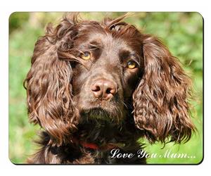 Chocolate Cocker Spaniel Dog Mum Sentiment, AD-SC4lym