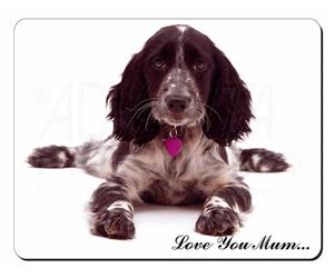 Cocker Spaniel Dog Mum Sentiment, AD-SC13lym
