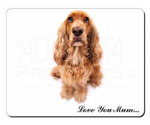 Cocker Spaniel Dog Mum Sentiment, AD-SC22lym