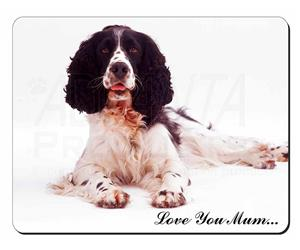 Black and White Springer Spaniel Mum Sentiment, AD-SS7lym