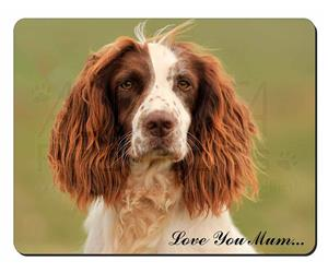 Springer Spaniel Dog Mum Sentiment, AD-SS77lym