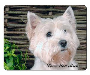 West Highland Terrier Dog Mum Sentiment, AD-W33lym