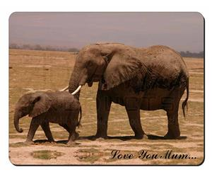 Elephant and Baby Tuskers Mum Sentiment, AE-6lym