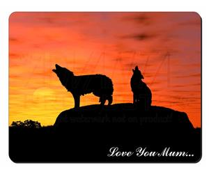 Sunset Wolves Mum Sentiment, AW-5lym