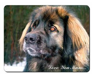 Black Leonberger Dog Mum Sentiment, AD-L56lym