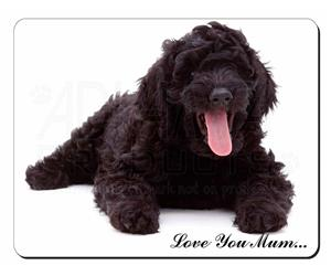 Black Labradoodle Dog Mum Sentiment, AD-LD2lym