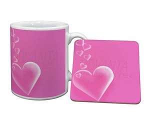 Pink Hearts Love Gift, LOVE-1