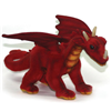 Hansa Beautifully Made Great Red Dragon Soft Plush Childrens Toy 5937