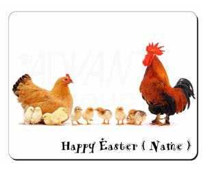 Personalised Easter Hen, Cockerel+Chicks, AB-107PEA