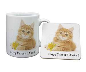 Ginger Cat Personalised Name, AC-158DA2