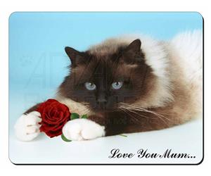 Birman with Rose